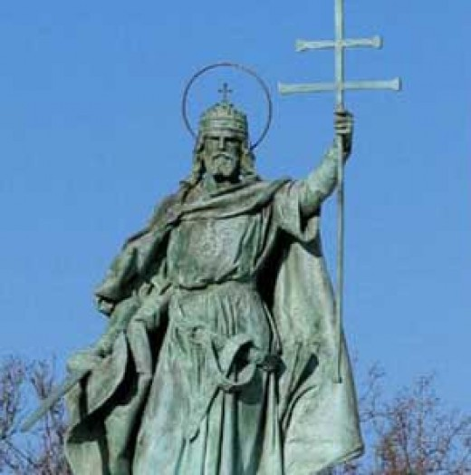 St. Stephen, first Christian king of Hungary