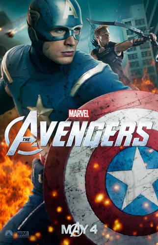 Captain America...the first avenger...