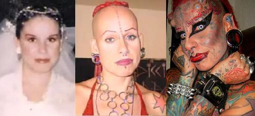 Cristerna's transformation