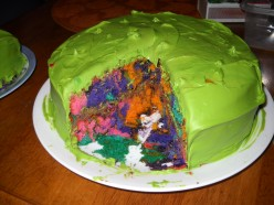 How to make a Wild Tie-Dye Cake