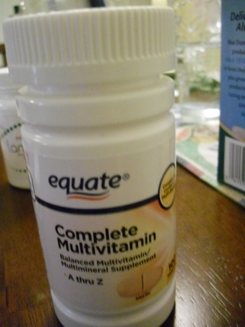 Multivitamins include various minerals and vitamins that your body needs.