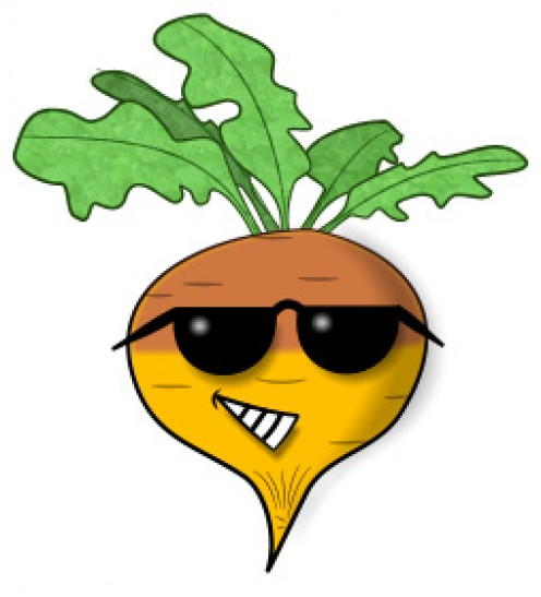 Rooty Rutabaga, our hero.