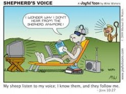 The Shepherd's Voice, God's Sheep is Listening