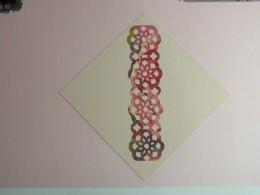 Lacey Border Trim & mat adhered to card