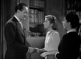 George Sanders, Joan Fontaine and Judith Anderson