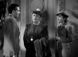 Laurence Olivier, Florence Bates and Joan Fontaine