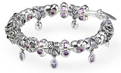 Purple Pandora Bracelets