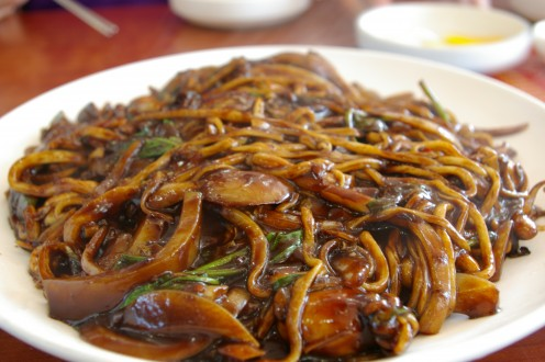 Chinese Lo Mein Dish