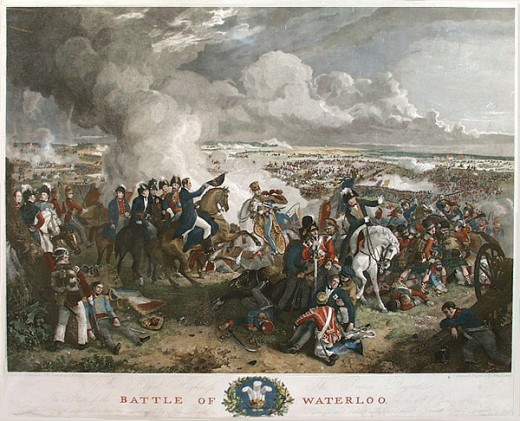 Napoleon's defeat at Waterloo, finally ended his dreams of forging an empire and emulating his heroes, Alexander and Caesar.