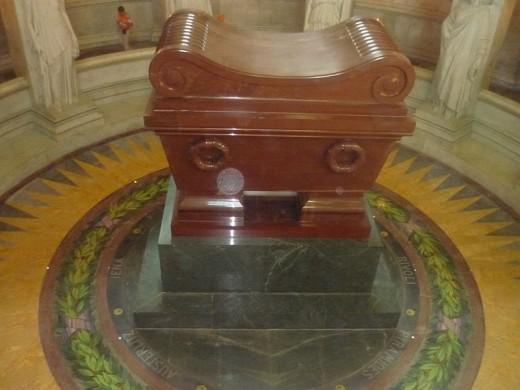 Napoleon's tomb.