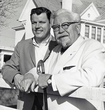 Harlan Sanders in 1964