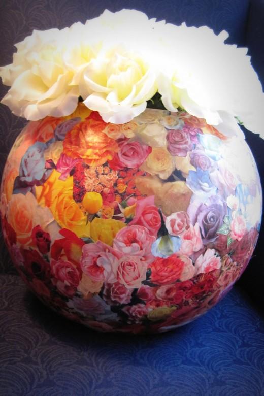 Rose Bowl Collage