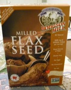 Flaxseed supplies fiber and decreases health risks.