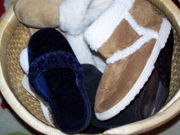 Basket for Slippers