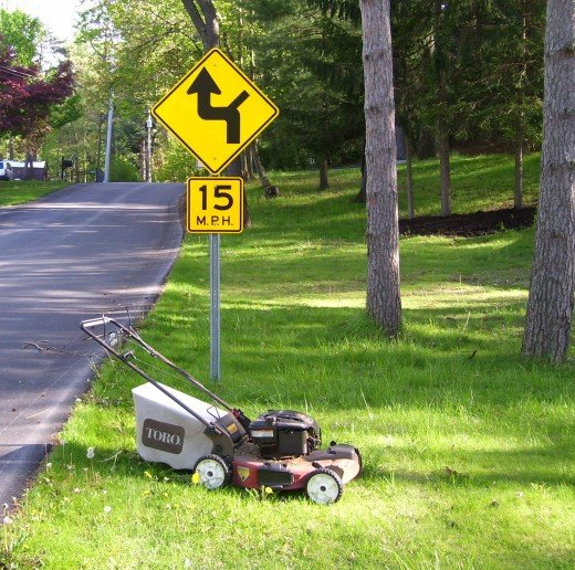 Stop worrying about the path you should take and just mow the lawn already!