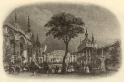 The Eagle Tavern (Grecian Saloon) in 1830.