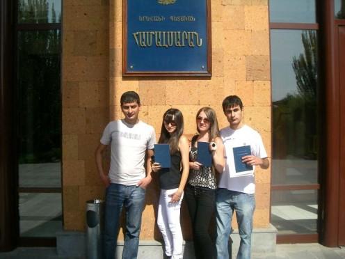 Yerevan State University graduates