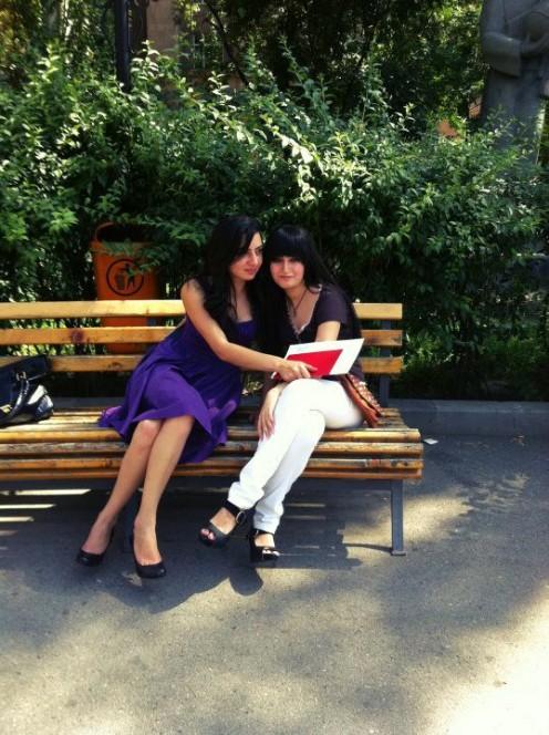 Me graduating Yerevan State University