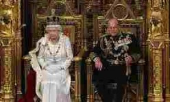 The Queen's Speech:  Westminster, 2012