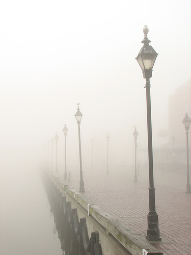 Fells Point fog