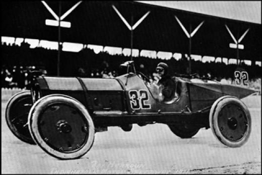 Ray Harroun winning the Indy 500