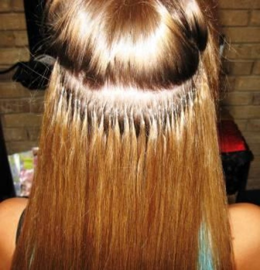 How are permanent hair extensions put in tape on and off extensions how are permanent hair extensions put in 43 pmusecretfo Images