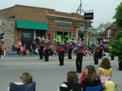 Thorton Fractional High School Band