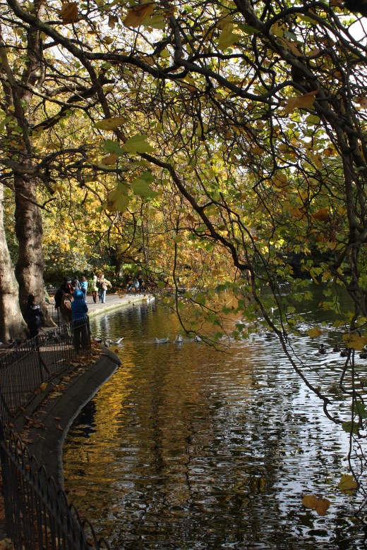 Lake, St Stephen's Green, Dublin, Republic of Ireland