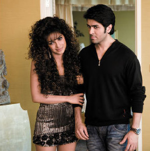 Priyanka Chopra and Harman Baweja in What's Your Raashee.