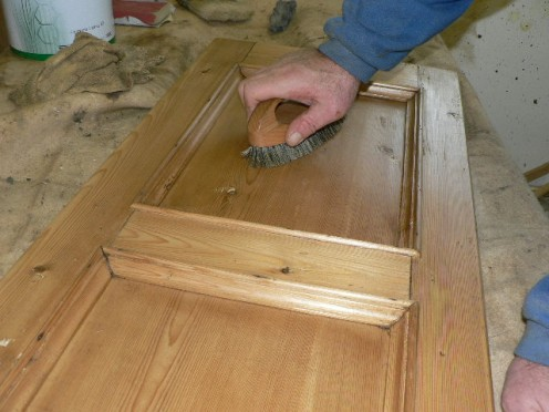 Glazing and antiquing your pine furniture gives it the perfect texture!