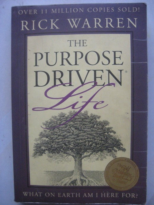 Book cover of The Purpose-Driven Life by Rick Warren (Photo by Travel Man)