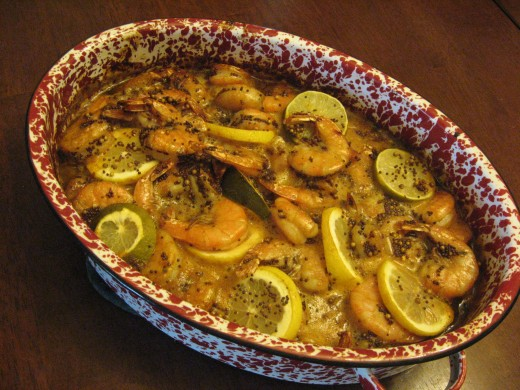 GREAT recipe for grilled shrimp!