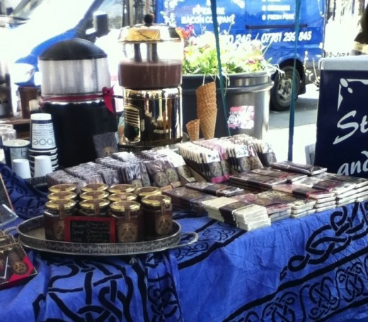 The Chocolate Tree stall