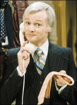 John Inman as Mr Humphries in Are You Being Served