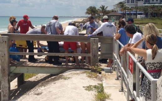 German woman attacked by shark Vero Beach, Florida
