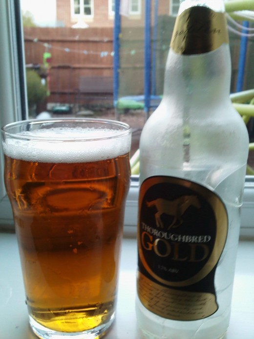 Thwaites Thoroughbred Gold