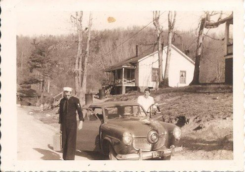 Textile mill house that my daddy rented and ultimately purchased and where me and my siblings grew to adulthood.