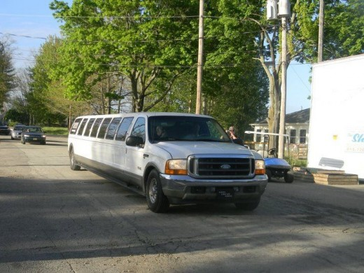 The $850 limo