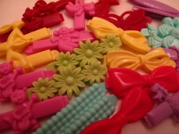 Goody barrettes were my favourites, On my head they adorned my hair.