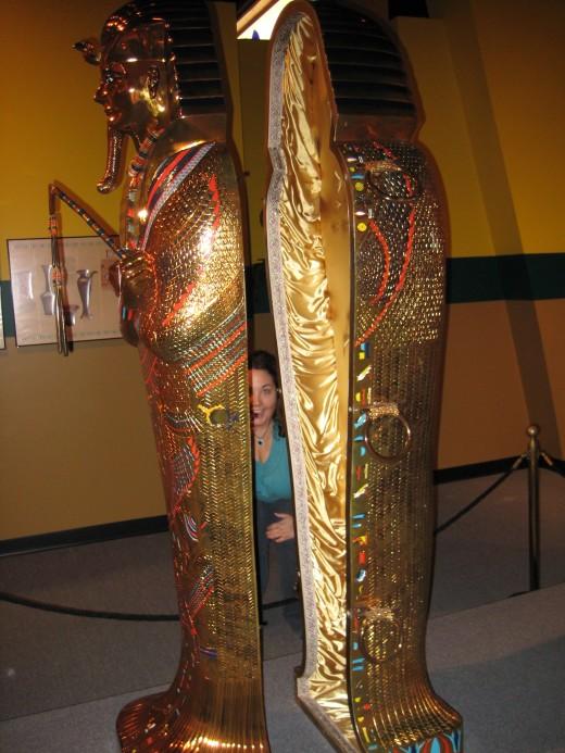 Mummy's casket
