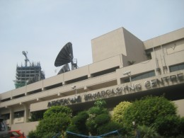 The ABS-CBN Studio at Mother Ignacia Street cor. Esguera avenue, Quezon City, Philippines (All Photos by Travel Man)
