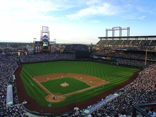 Coors Field, Home of the Colorado Rockies