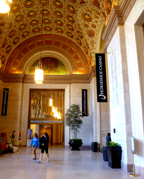 Horseshoe Casino accessed from The Terminal Tower's Grand Lobby