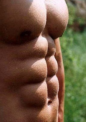 Don't give in, and you could have a six pack like this!