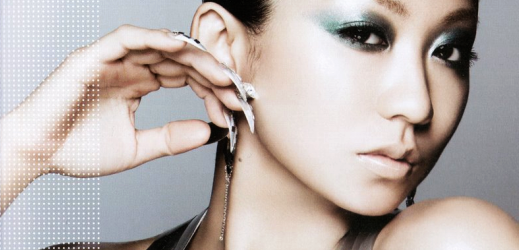 """Kumi Koda promoting her fourth best album """"Out Works & Collaboration Best""""."""