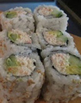 Noboru Restaurant: California Roll