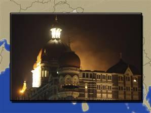 Taj under attack--Mumbai