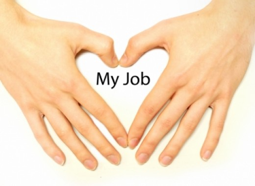 Find a job you love for a happy life