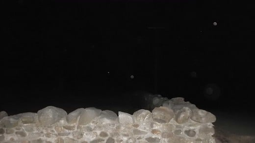 Several orbs captured on film at Gunntown Cemetery, Naugatuck, CT.