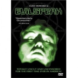 "The Anchor Bay ""Evilspeak"" DVD is out of print and is now a pricey collectible."